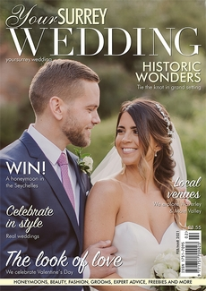 Issue 87 of Your Surrey Wedding magazine