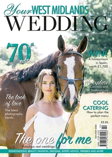 Issue 70 of Your West Midlands Wedding magazine
