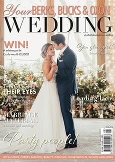 Cover of Your Berks, Bucks & Oxon Wedding, August/September 2021 issue
