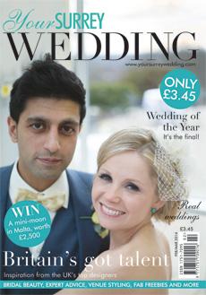 Issue 45 of Your Surrey Wedding magazine