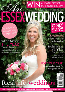 Click here to find out more about what you can read in the September/October issue of An Essex Wedding magazine