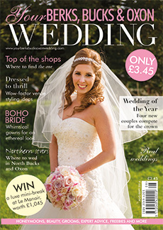 Front cover of Your Berks, Bucks and Oxon Wedding magazine - issue 48