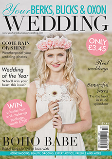 Front cover of Your Berks, Bucks and Oxon Wedding magazine - issue 49