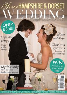 Issue 43 of Your Hampshire and Dorset Wedding magazine