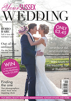 Front cover of Your Sussex Wedding magazine - issue 51