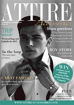 Nov/Dec 2014 issue of Attire Accessories magazine