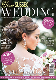 Front cover of Your Sussex Wedding magazine - issue 52