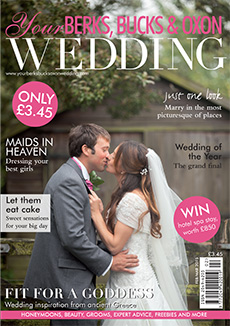 Front cover of Your Berks, Bucks and Oxon Wedding magazine - issue 51