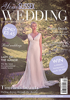 Front cover of Your Sussex Wedding magazine - issue 54