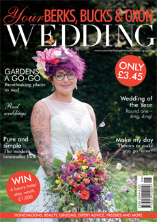 Front cover of Your Berks, Bucks and Oxon Wedding magazine - issue 53
