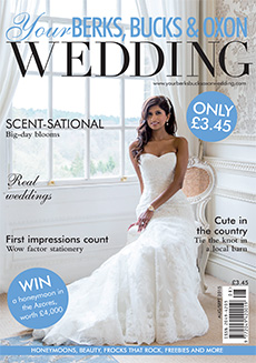 Front cover of Your Berks, Bucks and Oxon Wedding magazine - issue 54