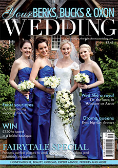 Front cover of Your Berks, Bucks and Oxon Wedding magazine - issue 55