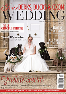 Front cover of Your Berks, Bucks and Oxon Wedding magazine - issue 56