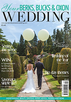 Front cover of Your Berks, Bucks and Oxon Wedding magazine - issue 57