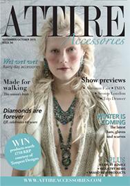 Issue 54 of Attire Accessories magazine