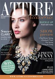 Issue 55 of Attire Accessories magazine