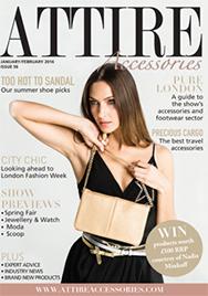 Issue 56 of Attire Accessories magazine