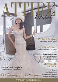Issue 50 of Attire Bridal magazine