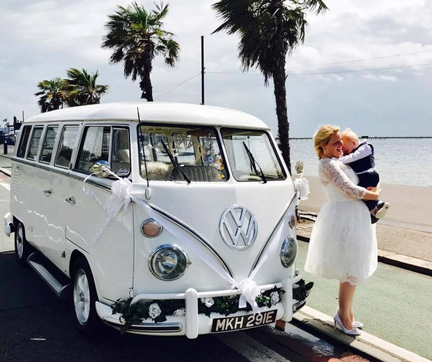 Chelmsford-based wedding transport company, V-DUB Rides is celebrating its 10th anniversary