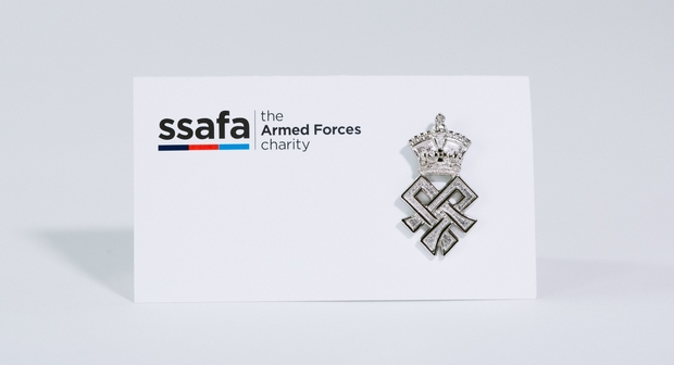 An alternative favour for couples that want to give back - made by SSAFA, the Armed Forces charity