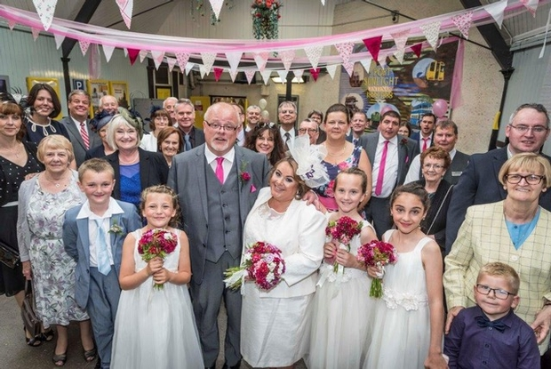 All aboard the love train as Wirral couple tie the knot with a little help from Merseyrail