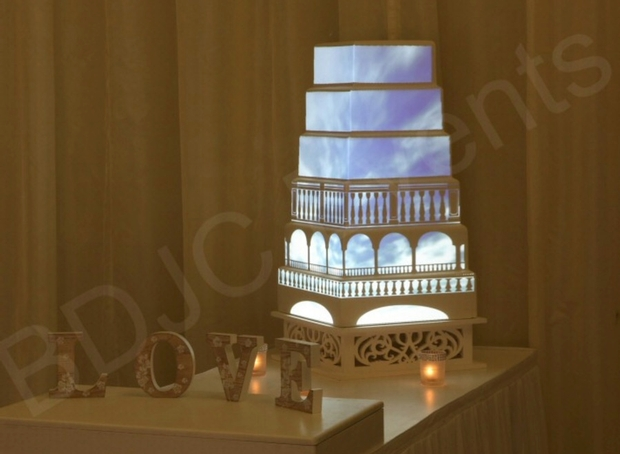 Let your cake shine with BDJC Events in Herts