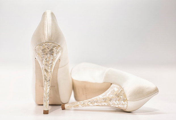 Shoe heaven for Hampshire brides-to-be