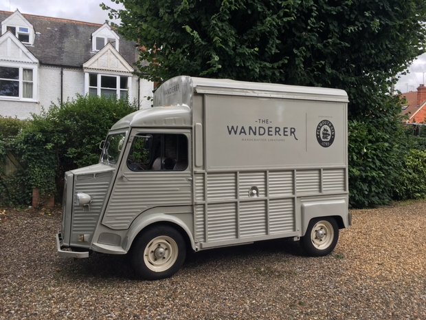 The New World Trading Company, based in Knutsford, Cheshire, launches The Wanderer, its first mobile cocktail bar