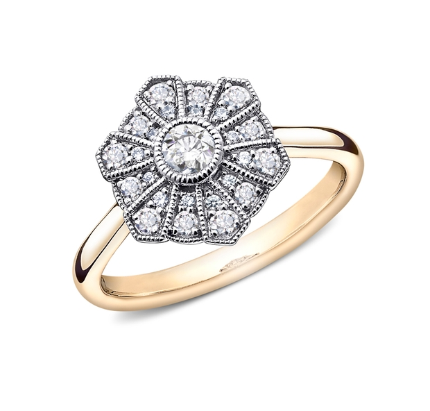 Jenny Packham adds two new ring collections to her Goldsmiths jewellery line