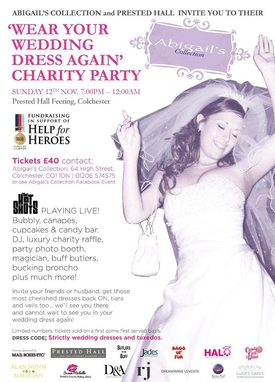 Essex bridal boutique company creates charity event where brides can rewear their gowns