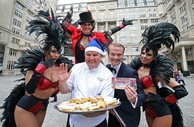 Carringtons Catering is feeling festive with Liverpool Town Hall spectacular