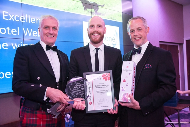 Ashdown Park Hotel wins Best Loved Online Excellence Award