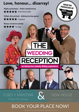 Win two tickets to The Wedding Reception this January
