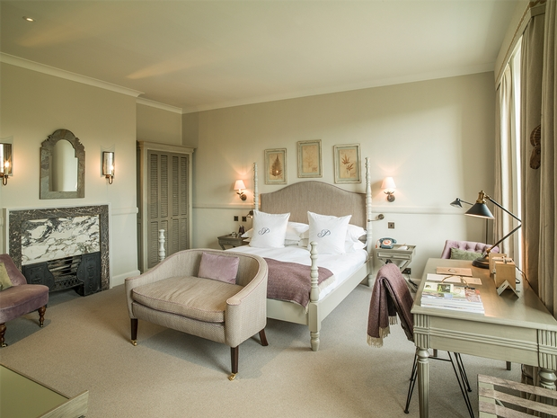 Treat yourself and your loved one to some post-Christmas hygge hibernation at The Painswick in Gloucestershire