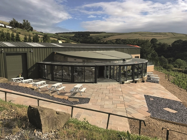 Wine and dine your guests at Holmfirth Vineyard