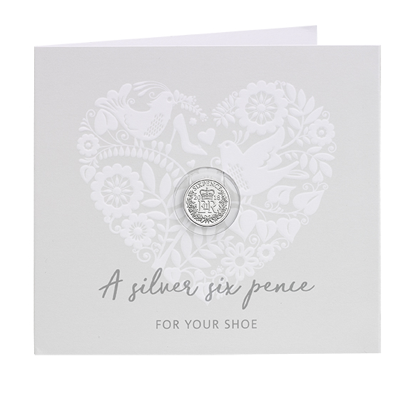 The Royal Mint personalises Sixpence wedding day tradition for the brides of 2018