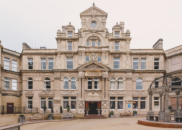 Further renovation have started on the Exchange Hotel in Cardiff