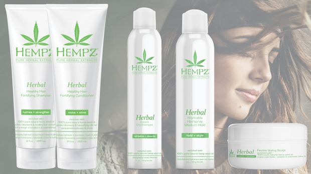 Hempz introduces The Herbal Haircare collection