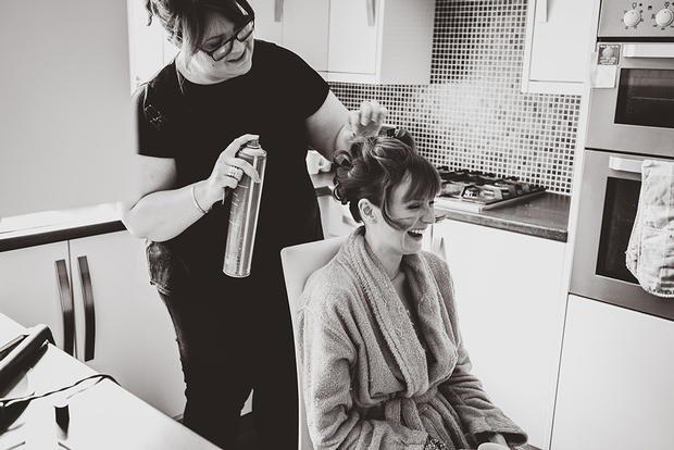 Local hairdresser, Angela Williams is celebrating 20 years in the industry
