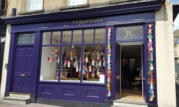 Bath's V V Rouleaux celebrates its 1st birthday!