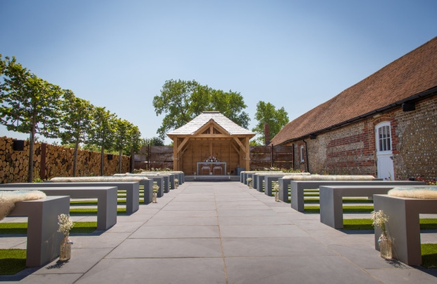 Southend Barns launches new garden for outdoor wedding ceremonies