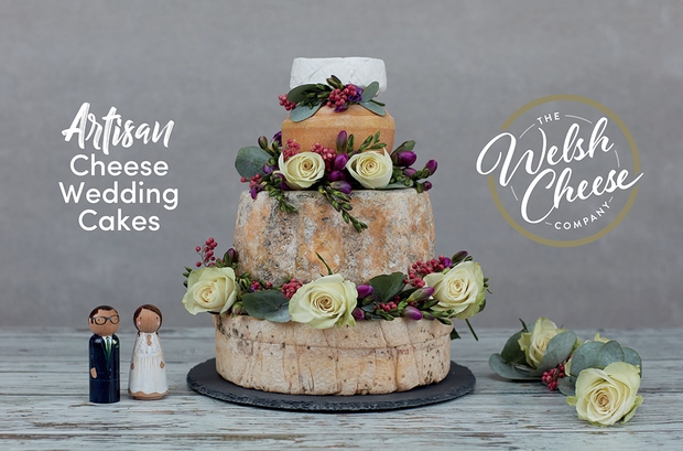 Tom Pinder from The Welsh Cheese Company discusses wedding cake alternatives