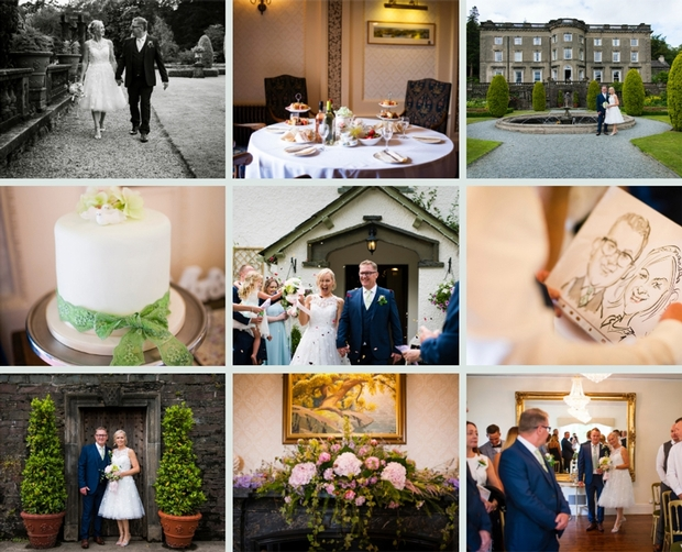 Gillian and Paul celebrated their big day at the gorgeous Cote How Lake District Weddings