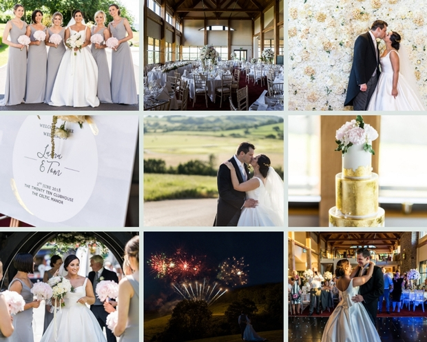 Laura and Tom celebrated their love with a beautiful church ceremony