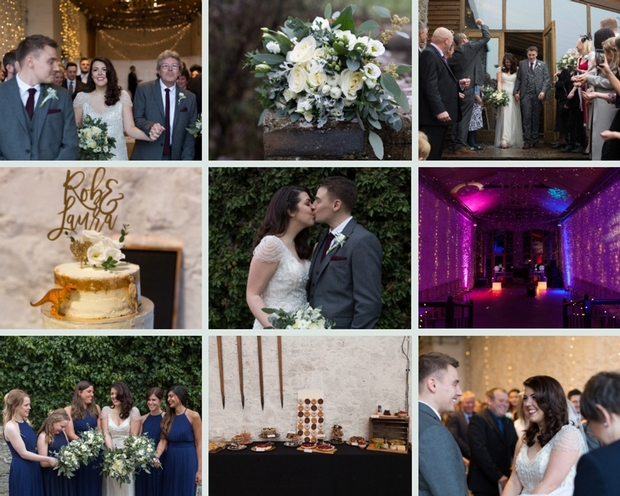 Laura and Robert tied the knot at Rosedew Farm with a wonderful December wedding