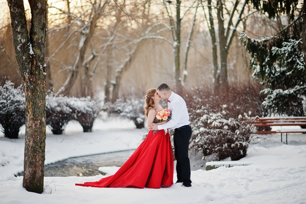 Guests spend more on winter weddings