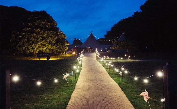Wedding Tipi is offering a 10 per cent discount on bookings made between December and January