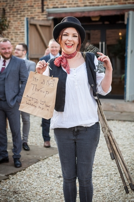 Looking for a quirky talking point for your wedding? Meet Katie Wiggins, Yorkshire's wedding chimney sweep!