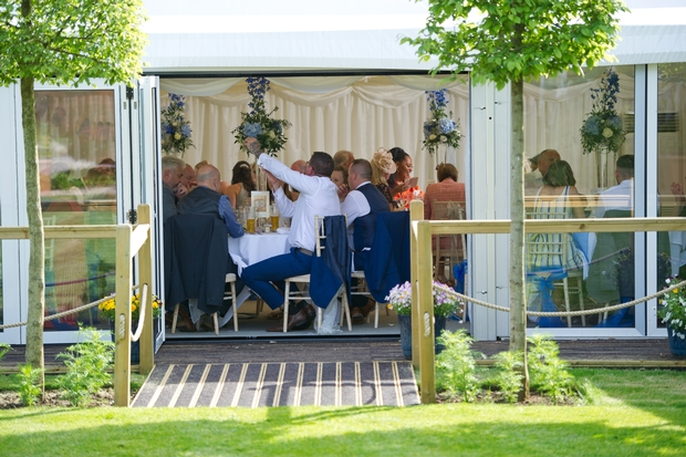 New marquee unveiled for Reading venue wedding open day