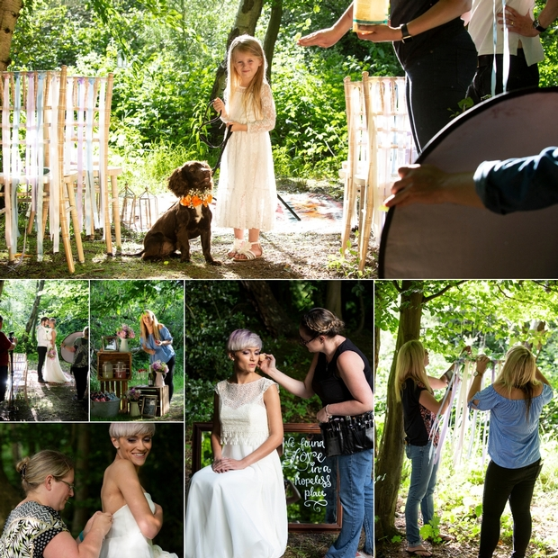 Behind the scenes: Woodland deco